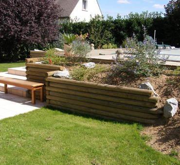 Aménagement de jardinières de soutènement Cosne-sur-Loire