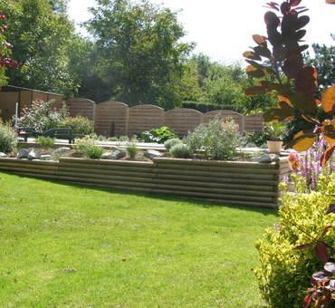 Fabrication des jardinières Plantations en bord de piscine Cosne-sur-Loire