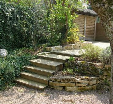 Escalier bois Pouilly-sur-Loire