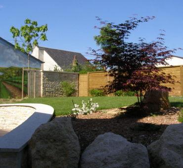 Aménagement complet du jardin Pouilly-sur-Loire