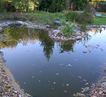 Varennes Vauzelles Mare de récupération d'eau